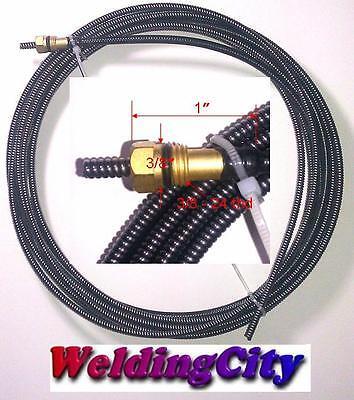 Weldingcity Liner 194-010 023-025 15-ft Miller Hobart M-101525 Mig Welding Gun