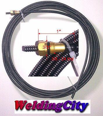 Weldingcity Mig Welding Gun Liner 194-011 .030-.035 15-ft For Miller Hobart