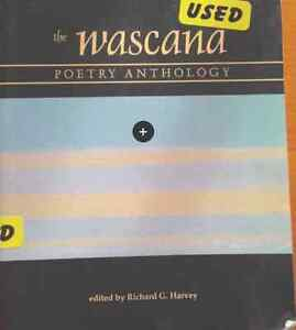 REDUCED!!University Text Book - The Wascana - Poetry Anthology