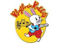 Rhythmic Rabbits Music Group for Preschool Children