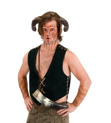 Satyr Horns Cosplay Adult Costume Accessory Pan Ram NEW UNUSED SEALED