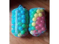 Multi-Coloured Play Balls