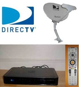 Directv Dish, HD PVR and Remote Direc tv