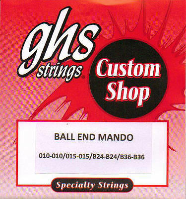 GHS-PFBM Mandolin strings Ball end phosphor bronze