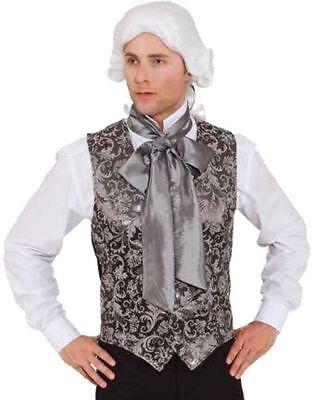 Orl - Herren Kostüm Barock Brokat Weste Karneval -