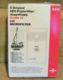 AEG PAPER FILTERS GROBE 12 FOR VACUUM CLEANER