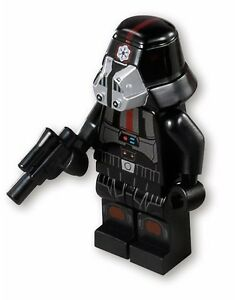 NEW LEGO® STAR WARS™  SITH TROOPER™ MINIFIGURE w/ Blaster Pistol 75001 REPUBLIC