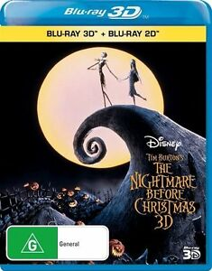 Details about Nightmare Before Christmas BLU-RAY 3D + 2D Region B *NEW ...