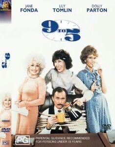 9-TO-5-DVD-Dolly-Parton-Jane-Fonda-Lily-Tomlin-COMEDY-Sealed-R4
