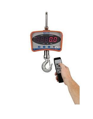 1000 Lb X 0.5 Lb Salter Brecknell Cs-1000 Series Hanging Digital Crane Scale New