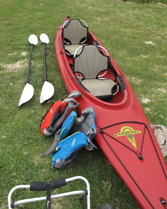 Double Kayak Marvel, including Carbon Paddles Hawthorn East Boroondara Area Preview