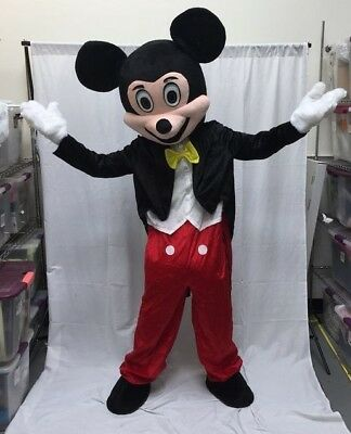 NEW Mickey Mouse Adult Mascot Costume Disney Halloween Party Birthday Cosplay  - Mickey Mouse Halloween Costume Adult