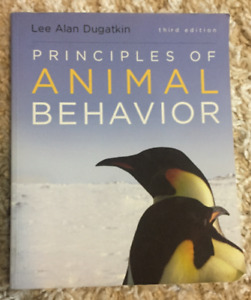 NESC 2160 Principles of Animal Behaviour