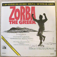 Zorba The Greek Original Soundtrack Album (vinyl LP)