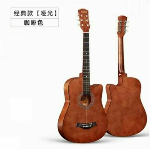 New High-Quality 41 In Coffee Wood Guitars From Guitar Factory Free Shipping