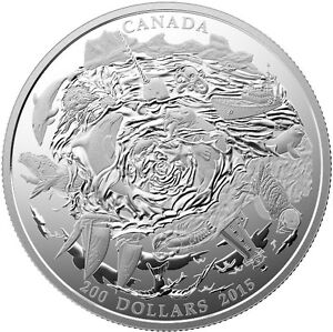 Pure Silver Coastal Waters Coin
