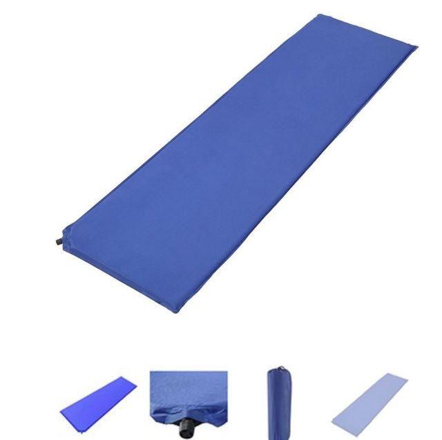 foam camping mattress. Blue Single Self Inflating Mat Camping;Mattress Bed/Yoga Exercise Mat/Foam Foam Camping Mattress A