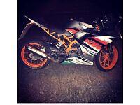 KTM RC 125 Akropovik editon