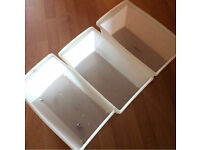 Tower Plastic Storage Unit - Silver