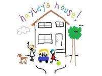 Childminder spaces available Gilmerton/liberton/lasswade area