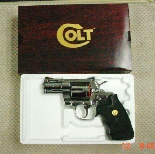 "Box & Paperwork for Colt Python 2.5"" 3"" 4""-Foam Box & PW Mid 70"