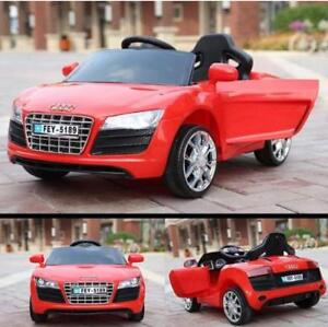 AUDI | KIDS RIDE ON CAR | BRAND NEW | CALL 1-800-821-0552