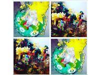 "18"" stuffed Easter balloons & Baskets 🎈🛍"