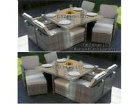 cube ratten garden furniture