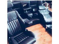 Alfa Romeo momo leather car seats