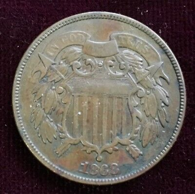 1868 TWO-CENT