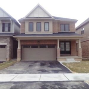New Empire Built 4 Bedroom Detached Home In Caledonia For Rent!