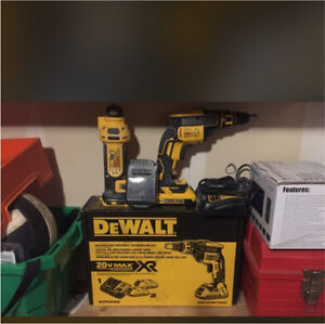 Drywall tools used one time only