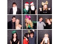 Christmas Photo booth for hire Cambridge, Hearts and Beds (Fully Insured)