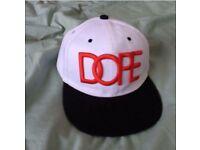 Mens DOPE SnapBack hat
