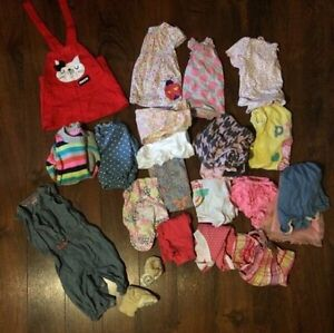 Baby girl clothing. 6-12 months.