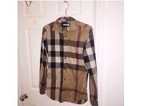 Burberry Brit Shirt Checkered XS £70