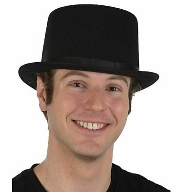 Child Size Top Hat (Jacobson Top Hat Sizing/Sweat Band Felt Black Larger Child Teen)