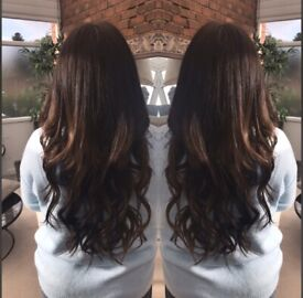 Mobile hair extension technician and beautician