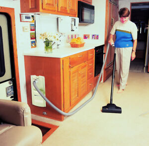 RV Central vacuum systems