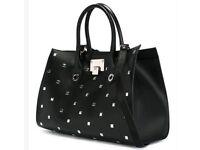 Limited Edition Jimmy Choo Studded Riley Black Bag