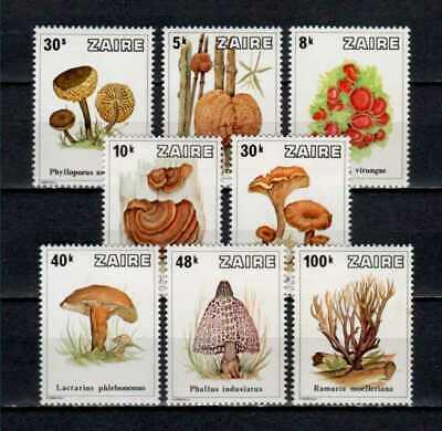 Belgisch Congo Belge - Rep. Zaïre n° 958/965 MNH Mushrooms Champignons c18.00Eu