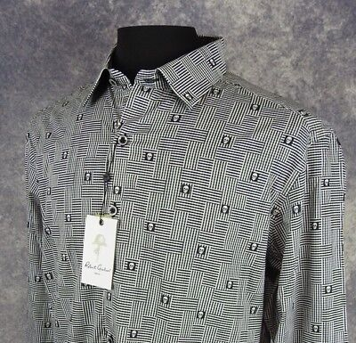 Robert Graham Mens Shirt Size Large Ls Classic Fit Skull Print Button Down Nwt