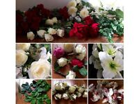 Silk Flower Bundle