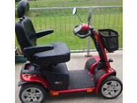 PRIDE COLT PURSUIT MOBILITY SCOOTER • Larger Solid Wheels for outdoors - No longer required