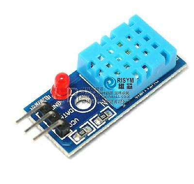 2pcs Arduino Dht11 Temperature And Relative Humidity Sensor Module