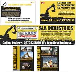 Skilled Paving Contractor Commercial, Acreage Driveways, SLA Edmonton Edmonton Area image 4