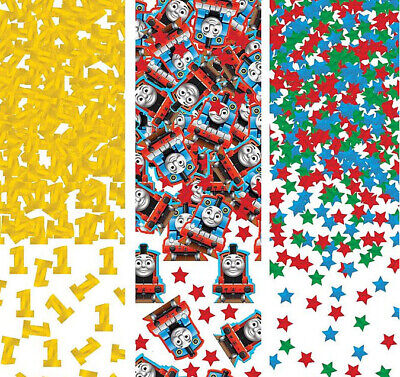 THOMAS THE TANK ENGINE Birthday party supplies TABLE CONFETTI 1 pack trains