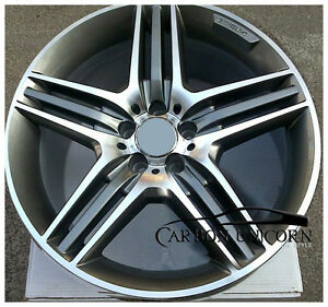 18 19 inch amg style alloy wheels rims 5x112 mercedes benz for Mercedes benz 19 inch amg wheels