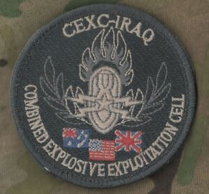 TALIZOMBIE-WHACKER-COMBINED-EXPLOSIVE-EXPLOITATION-CELL-CEXC-IRAQ-VELCRO-PATCH