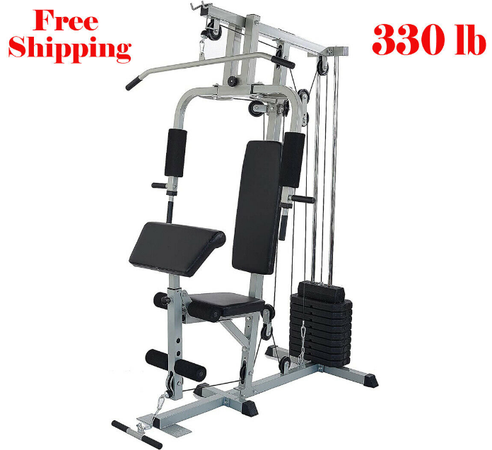 HOME GYM RS 80 Training Workout Total Fitness Strength Equip